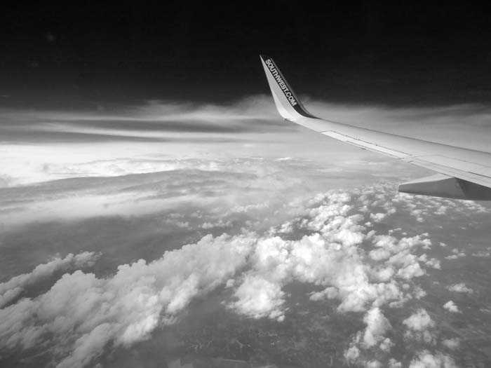 First Clouds of the Eastward Flight -©- Max Clarke