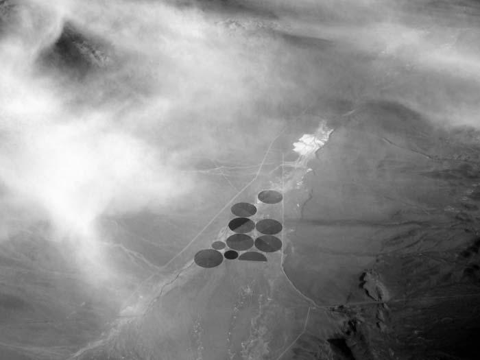 Crop Circles In Nevada -©- Max Clarke