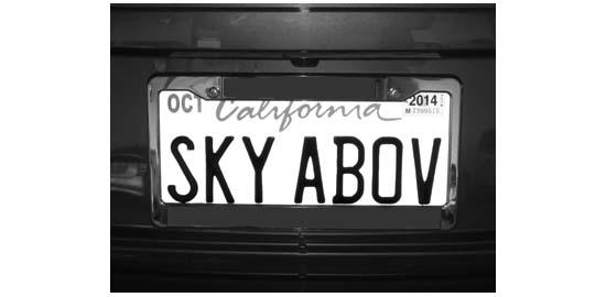 Sky Above © Max Clarke