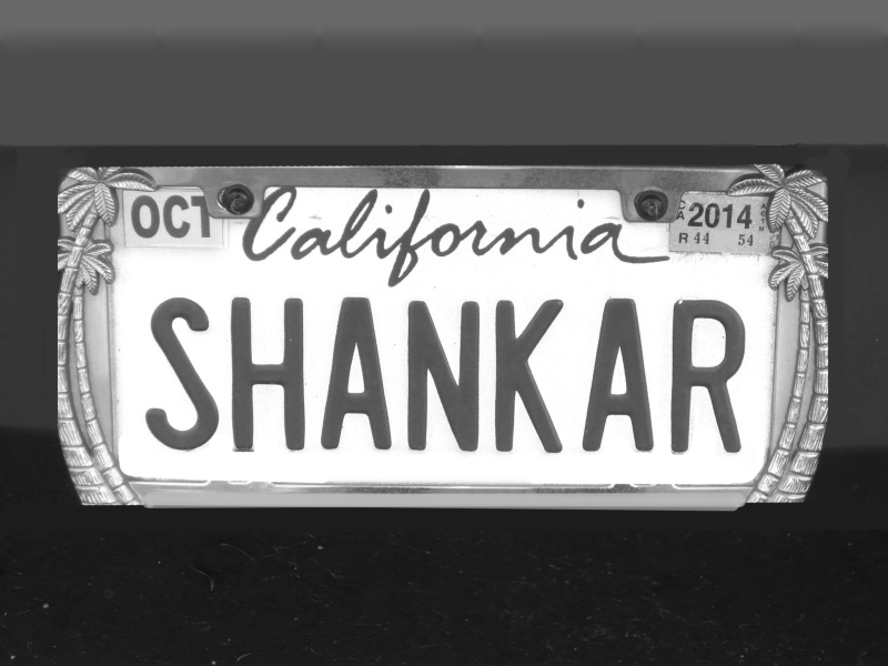 Bw SHANKAR one 9apr14wed-4228- man name plate SHANKAR near sports authority ebbsc oak