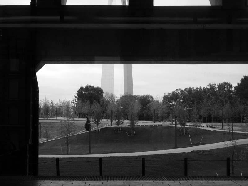 10 St Louis Gateway Arch from Metrolink - Max Clarke