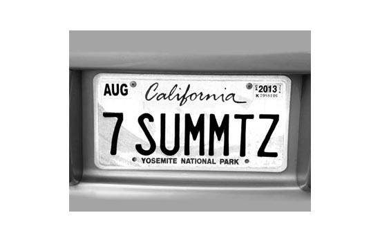 7 Summits plate - Max Clarke
