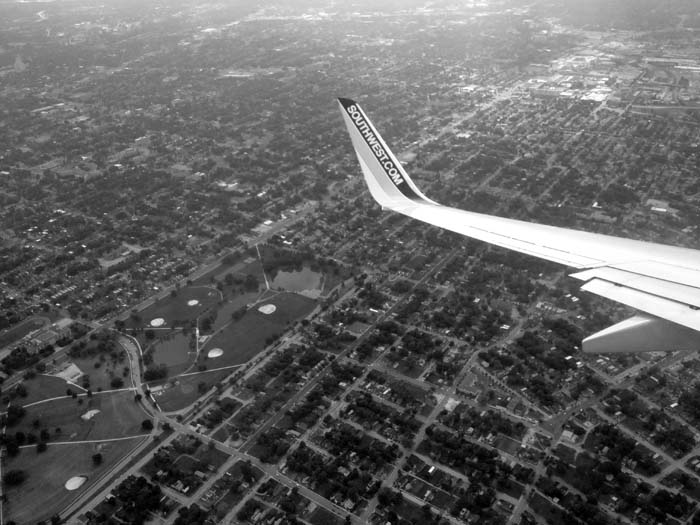 Wide Turn Above St Louis -©- Max Clarke