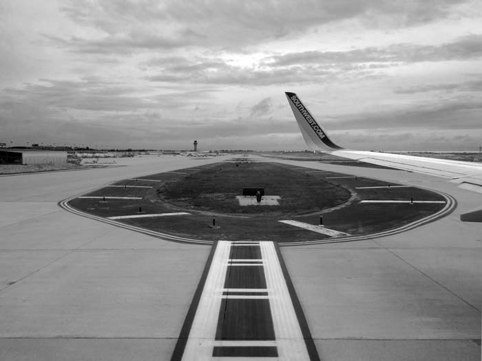 From Taxiway To Runway -©- Max Clarke