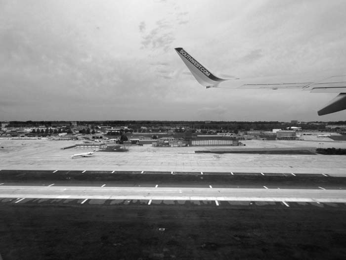 Wheels Up From STL -©- Max Clarke