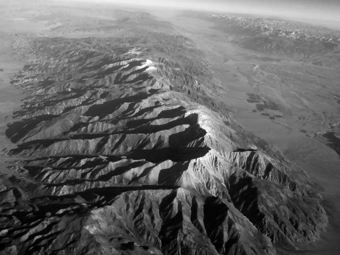 Owens Valley and Mount Whitney...Somewhere -©- Max Clarke