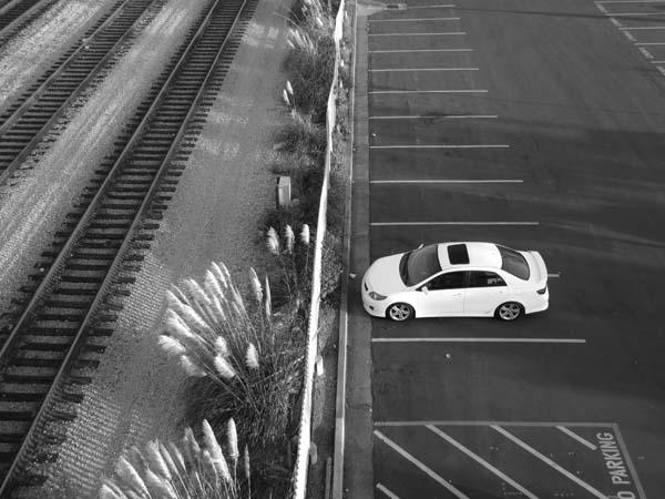 Above The Tracks © Max Clarke