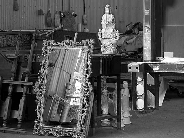 Buddhist Chinese Figurine - photo by Max Clarke