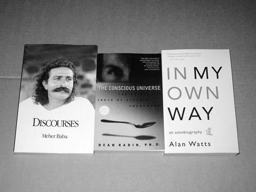 Three books - Conscious Universe - Max Clarke