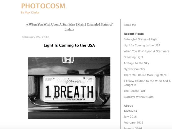 LIGHT IS COMING TO THE USA - Max Clarke