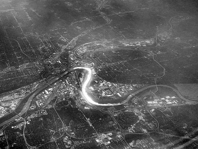 26 Kansas  City, Missouri from the north - Max Clarke